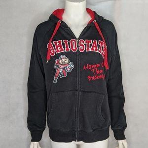 Ohio State Hoodie M Buckeyes 1998 Signed Bellisari